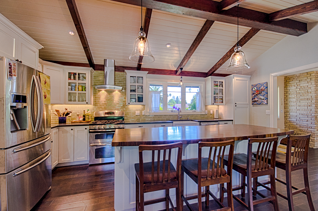 Ranch style kitchen designed by Golden Visions Design